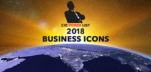 Top Business Icons honoured at CIO Power List 2018