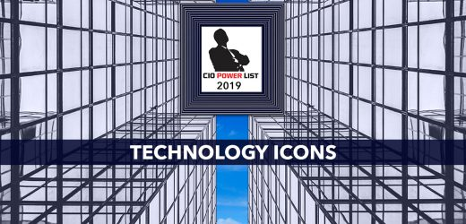 Technology Icons awarded at 5th edition of CIO Power List 2019