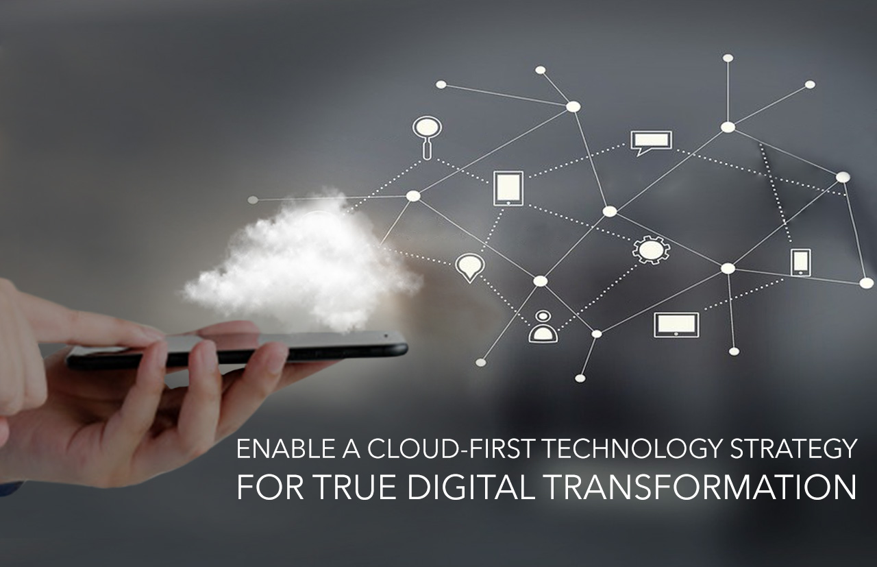 Digital Customer Experiences with a Cloud First Approach