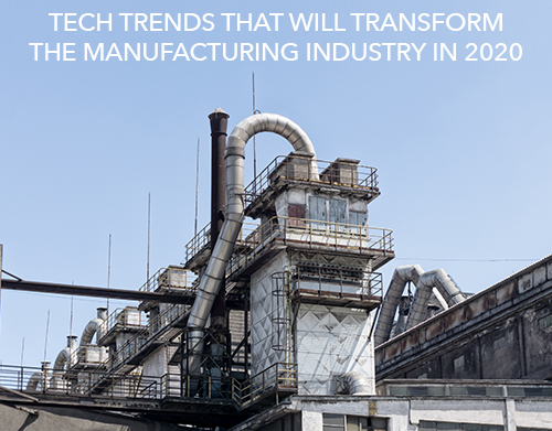 Tech trends that will transform the manufacturing industry in 2020