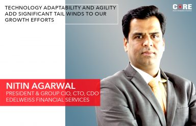 Technology adaptability and agility add significant tail winds to our growth efforts