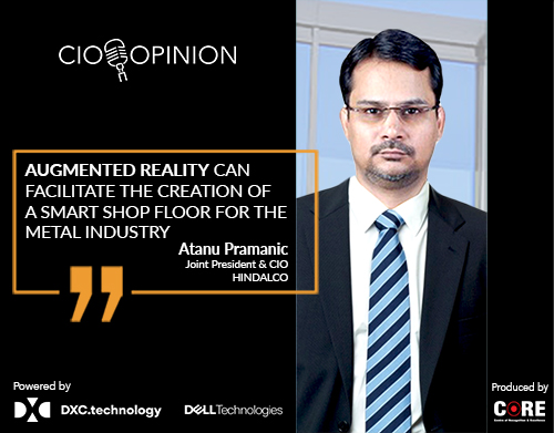 Augmented Reality can facilitate the creation of a smart shop floor for the metal industry