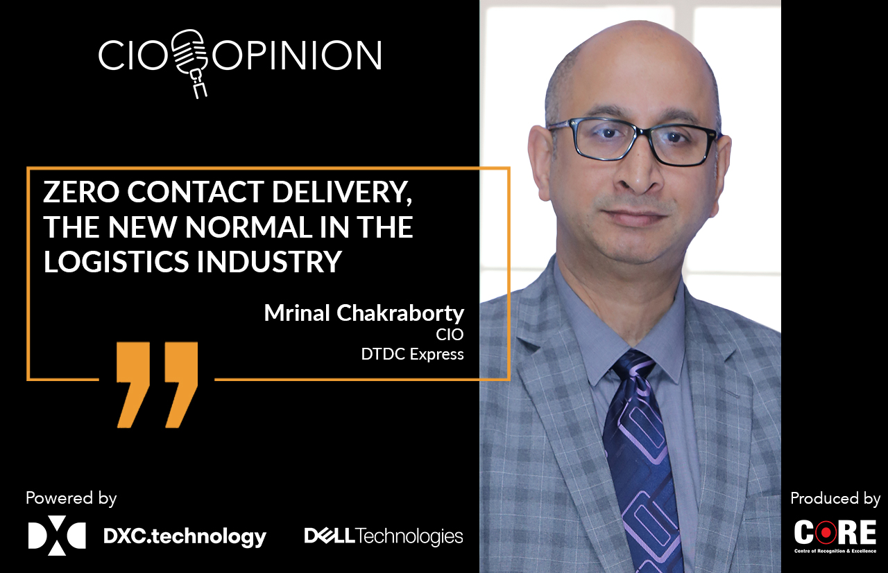 Zero Contact Delivery, the New Normal in the Logistics Industry
