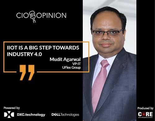 IIoT is a big step towards Industry 4.0