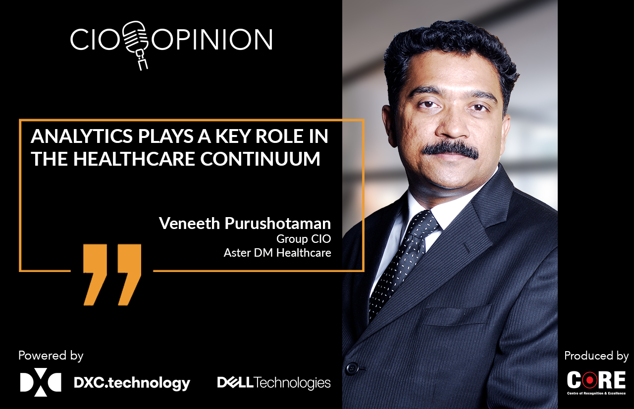 Analytics plays a key role in the healthcare continuum.