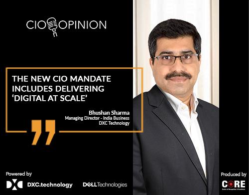 The new CIO mandate includes delivering 'Digital at scale'