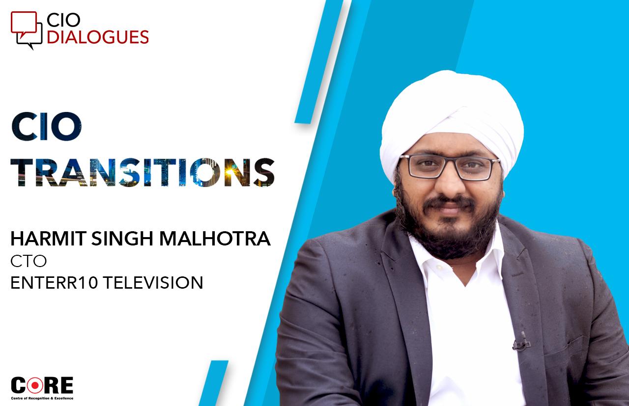 Harmit Singh Malhotra quits Republic TV; joins Enterr10 as CTO