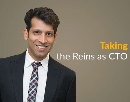 Taking the Reins as CTO