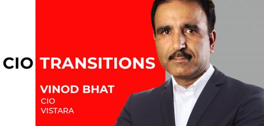 Vistara Appoints Vinod Bhat as its New CIO