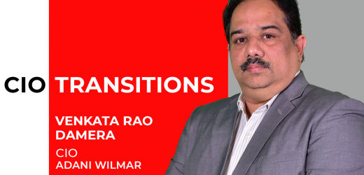 Venkata Rao Damera takes over as CIO of Adani Wilmar