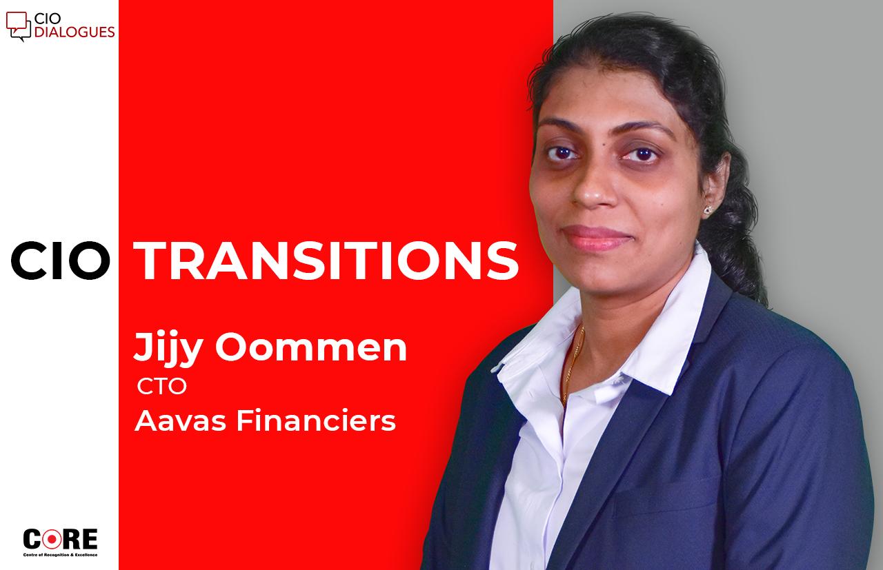 Jijy Oommen joins Aavas Financiers as CTO