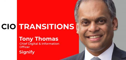 Tony Thomas, former CIO of Nissan, joins Signify