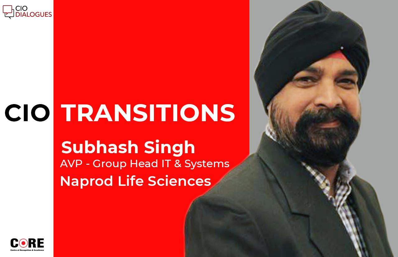 Subhash Singh Punjabi joins Naprod Life Sciences